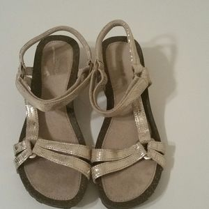 Teva Metallic Sandals